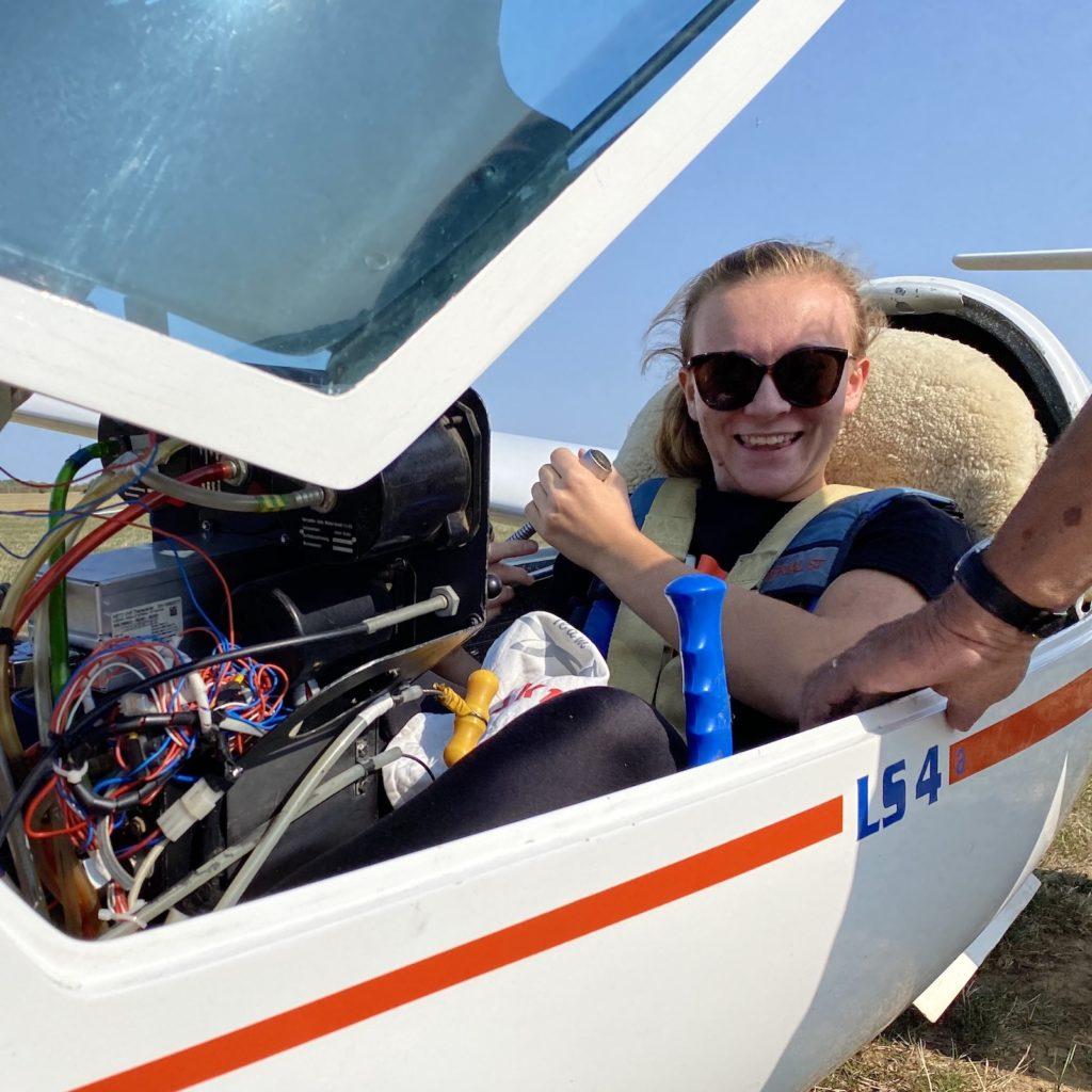 Léa portrait pilote planeur