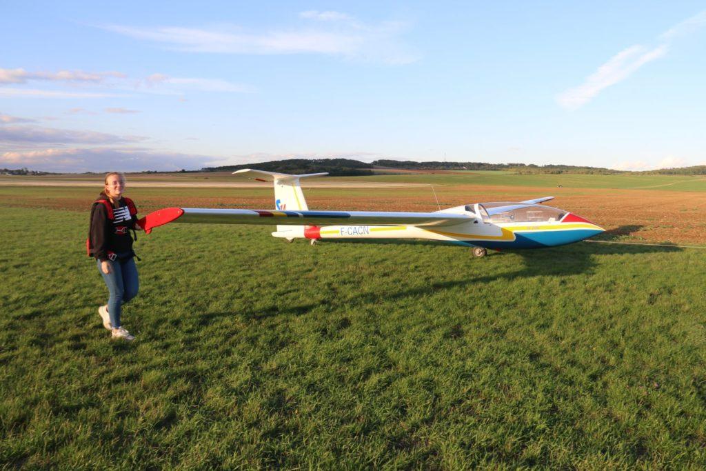 Planeur ICA IS-28B2 Premier retour hangar 2020